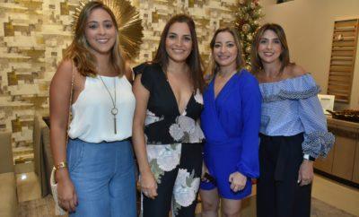Sarah Piantini, Altagracia Isa, Theany Isa y Aimee Arbaje