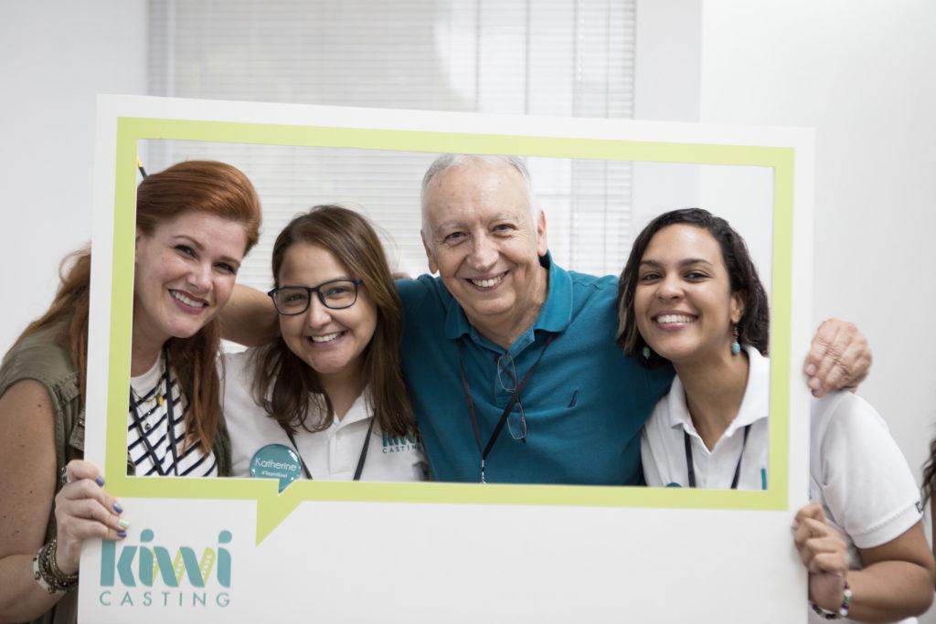 Zarahi Díaz, Katherine González, Tito Rojas y Kenya Roque.