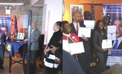 Congresista reconoce aportes organizaciones al desarrollo Bronx y Manhattan