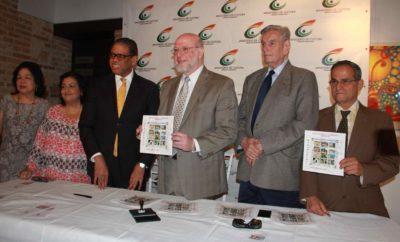 En la mesa de honor, el ministro Vergés y Modesto Guzmán estuvieron acompañados por funcionarios de ambas instituciones.