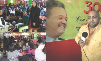 "Movimiento ""300 con Leonel"" realiza masivo acto politico nadiveño NY"