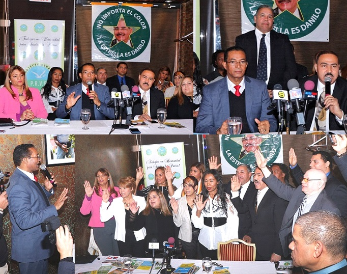 Arranca desde NY la reelección presidente Medina