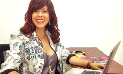 Eliane escritorio Editorial