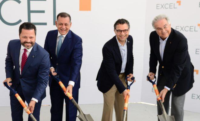 Eduardo Cruz, Gabriel Castro, Alberto Cruz y Gabriel José Roig