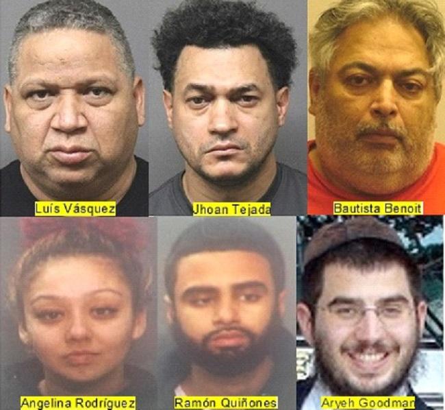 Policía NJ apresa hispanos relacionados con drogas