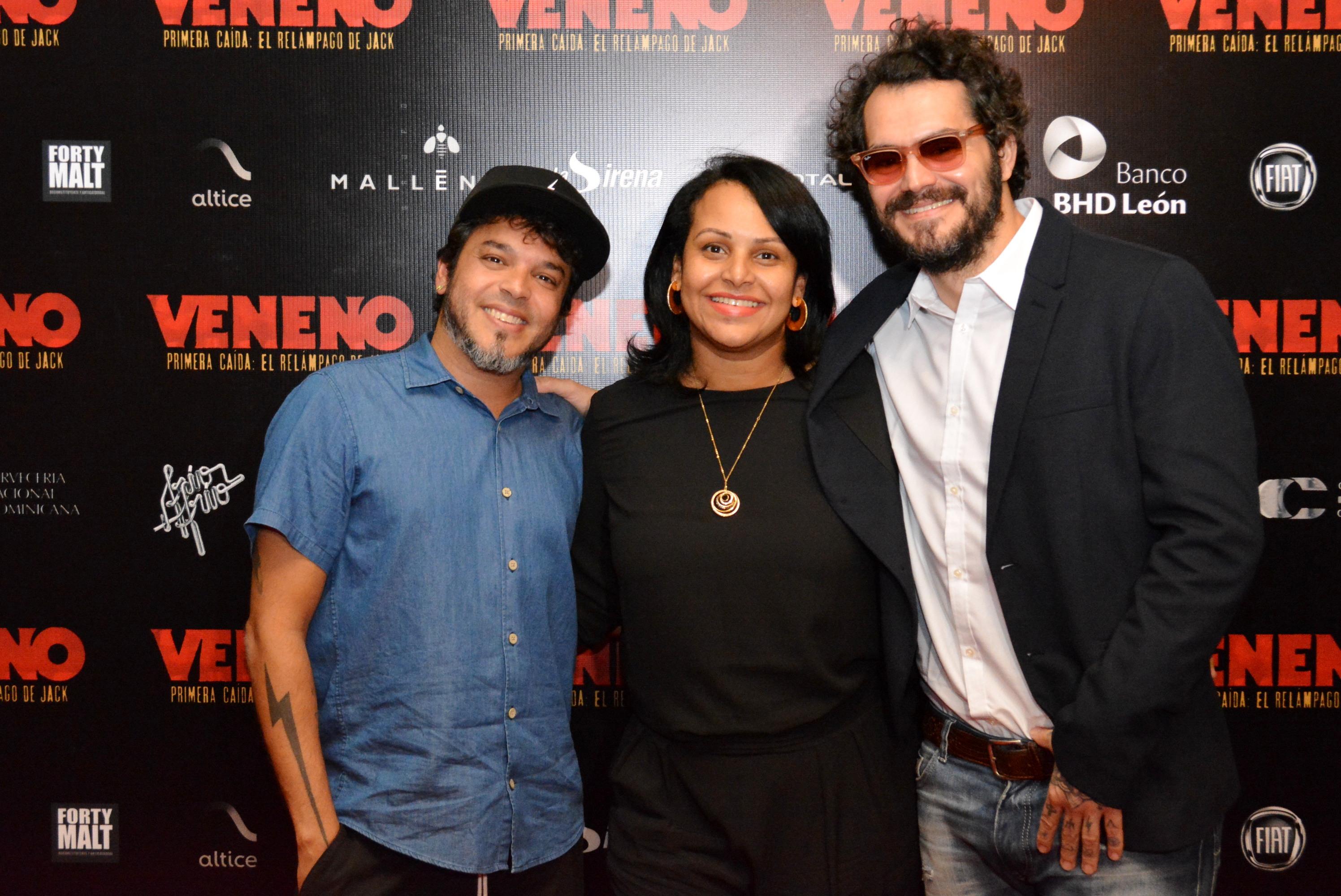 Tabare Blanchard, Zumaya Cordero, Riccardo Bardelino