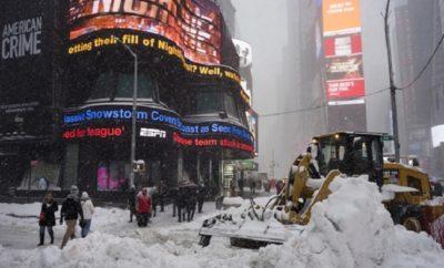 Anunciada poderosa tormenta invernal inicia débil en NYC