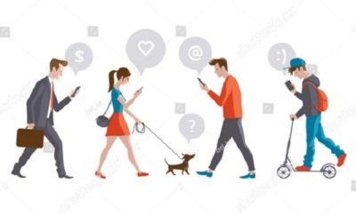 Ciudad NY busca multar personas mientras camina escribiendo en celular.