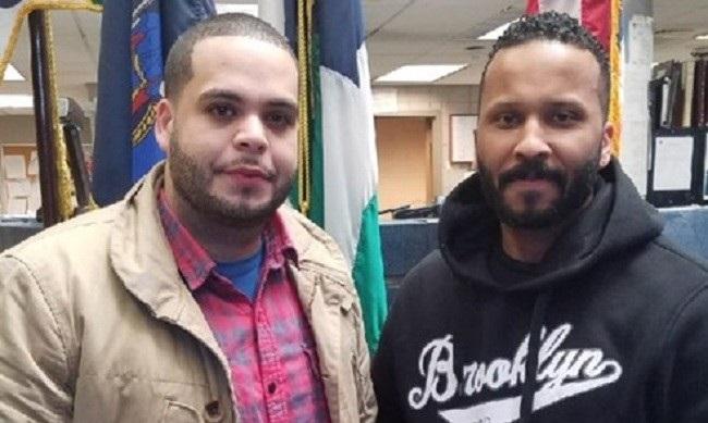 Policías dominicanos del Bronx antes detener delincuente son atacados