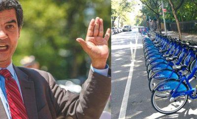 Crece rechazo a propuesta concejal Rodríguez instalar bicicletas Alto Manhattan