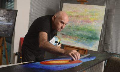 El artista francés Michel Bizet inaugurará su exposición Pachamama.