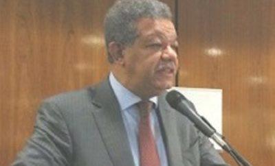 Leonel- Los números no dan aprobar ley partidos políticos este martes--