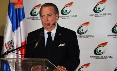 Ministro de Cultura, Eduardo Selman.