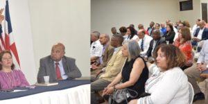 "Dominicanos NY asisten masivamente puesta circulación libro ""Diplomacia Competitiva"""
