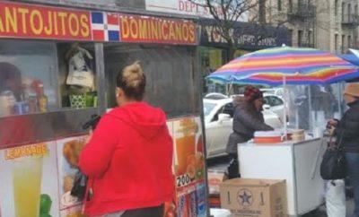 Nerviocismo entre vendedores ambulantes dominicanos Alto Manhattan