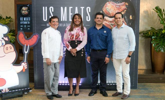 Chef Germán Navarrete, Gladys Taveras, Saul Bueseo Y Sadi Velez