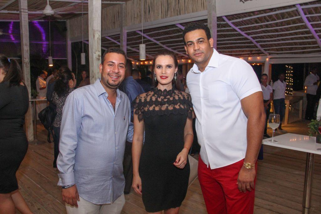 Felipe de la Rosa, Natalia Sevostyanova y Andres Madera