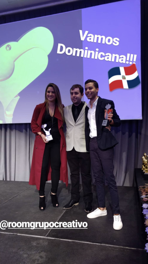 Nathalie Hazim, Nicolás Batista y Felix Pinales