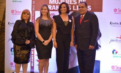 Rommy Grullon, Gabriela Marine, Carolina Cruz de Martinez y Miguel Franjul.