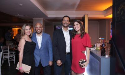 Nadira Abbott, José Carlos Monagas, Juan Ernesto Jiménez y Amanda Musa