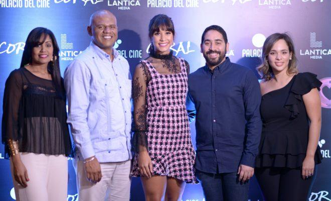 Natasha Rodriguez, Gabriel Ordaz, Stephany Liriano, Rafael Muñoz y Valentina Avellaneda