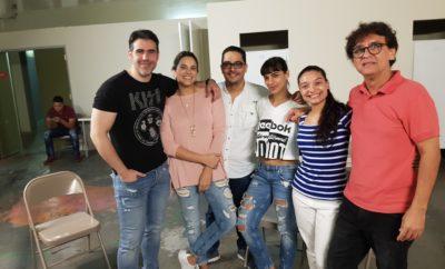 José Guillermo Cortines, Pamela Sued, Luis José Germán, Nashla Bogaert, Johanny García y Manuel Chapuseaux