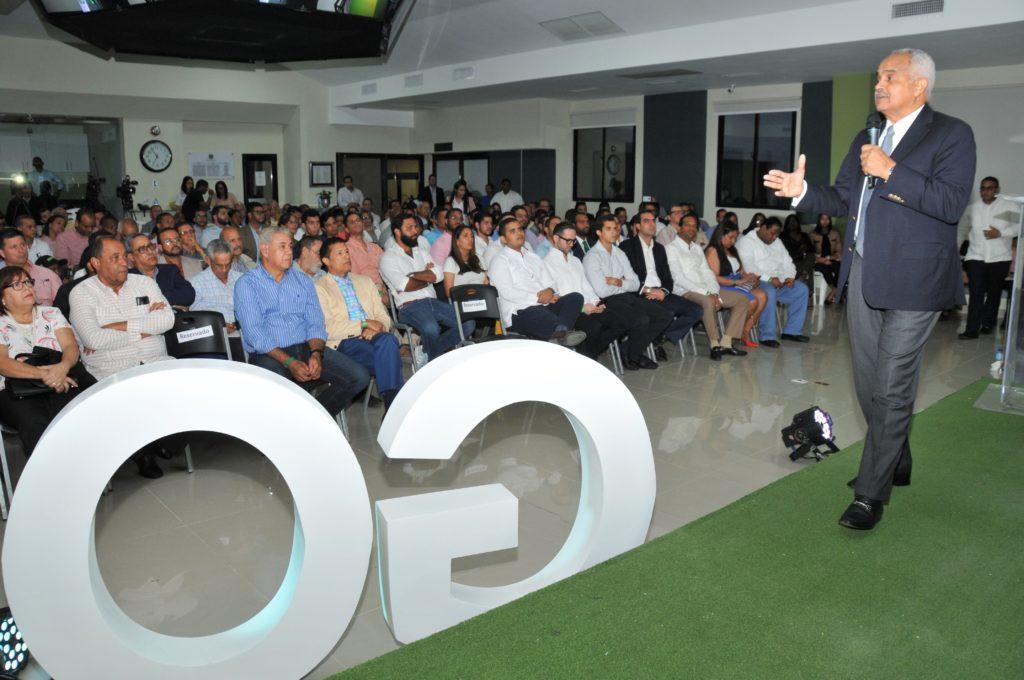 Osmar C. Benítez, Ministro de Agricultura, se dirige a los participantes del III Foro Go JAD